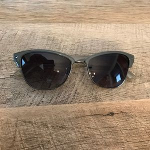 Kenneth Cole Reaction Clubmaster Style Sunglasses